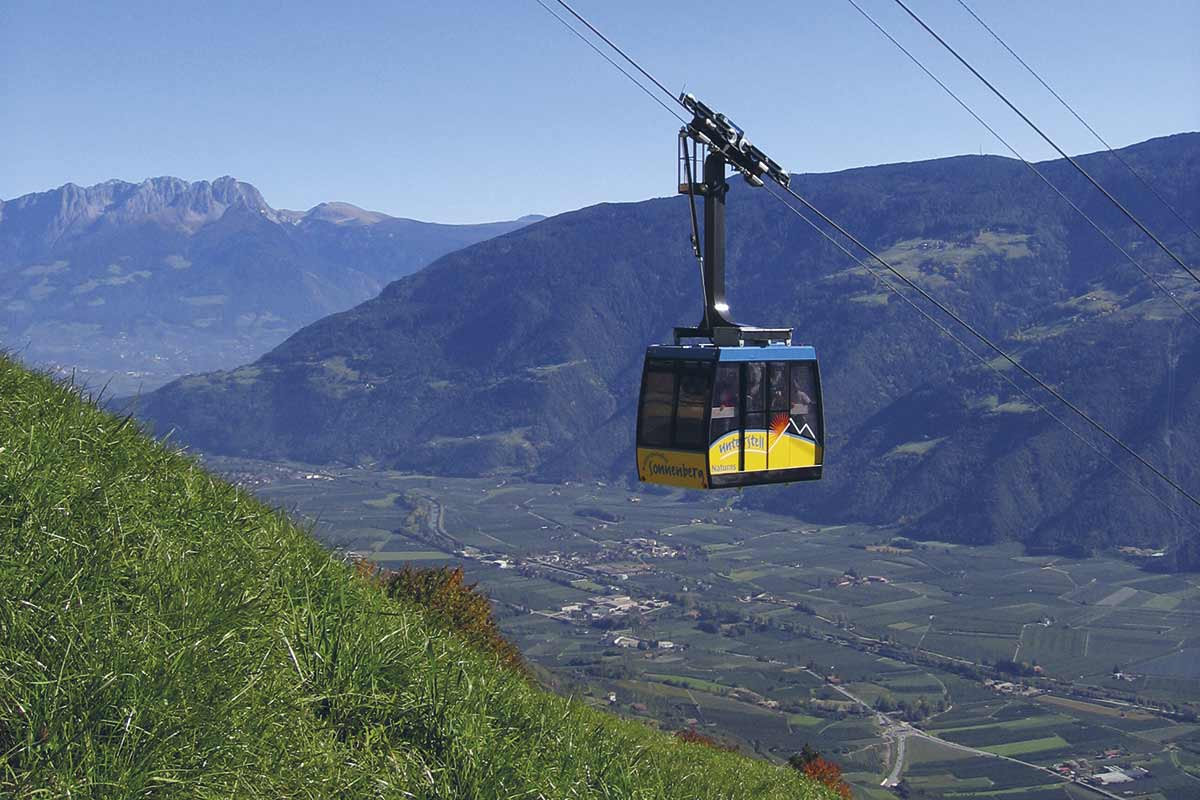 Klettersteig Unterstell : Meraner höhenweg west giggelberg unterstell
